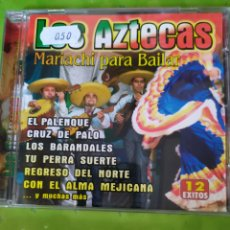 CDs de Música: (CD1230) LOS AZTECAS - MARIACHI PARA BAILAR SEGUNDAMANO. Lote 183461392