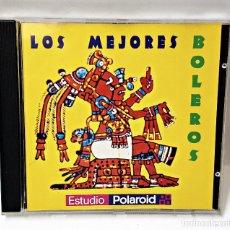 CDs de Música: CD DE POLAROID DE LOS MEJORES BOLEROS 1996.. Lote 183474901