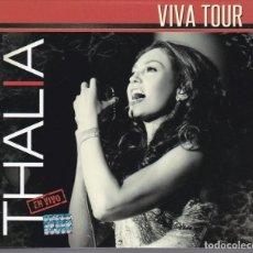 CDs de Música: THALIA - VIVA TOUR - CD + DVD DIGIPACK. Lote 183475443