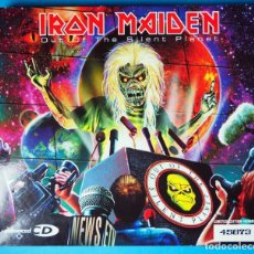 CDs de Música: CD. IRON MAIDEN: OWT OF THE SILENT PLANET. LIMITED EDITION NUMBER 45873. AÑO 2000. Lote 183491017