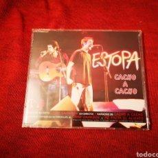 CDs de Música: ESTOPA CACHO A CACHO CD SINGLE PRECINTADO 1999. Lote 183491145