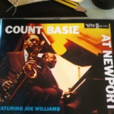CDs de Música: COUNT BASIE ‎– COUNT BASIE AT NEWPORT. Lote 183499030