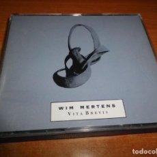CDs de Música: WIM MERTENS VITA BREVIS DOBLE CD ALBUM DEL AÑO 1991 AUSTRIA 2 CD NEW AGE CLASICA MUY RARO CAJA ANCHA. Lote 183505740