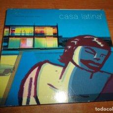 CDs de Música: CASA LATINA 2 LUIS LOPEZ DOBLE CD 2002 LOS AMIGOS INVISIBLES WAGON COOKIN SUNSET BOULEVARD 2 CD RARO. Lote 183507871