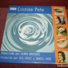 CDs de Música: CD PROMO SINGLE CRISTINA PATO / TOLEMIA 2 VERSIONES - CARTON. Lote 183509505