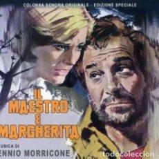 CDs de Música: IL MAESTRO E MARGHERITA / ENNIO MORRICONE CD BSO - GDM. Lote 183518293