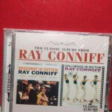 CDs de Música: CD RAY CONNIFF ( TWO CLASSIC ALBUMS ) : BROADWAY IN RHYTHM + HOLLYWOOD IN RHYTHM . Lote 183526323