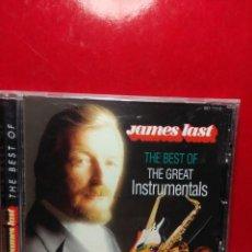 CDs de Música: CD JAMES LAST : THE BEST OF THE GREAT INSTRUMENTALS (INCLUYE BARCELONA, DE FREDDIE MERCURY ). Lote 183526935