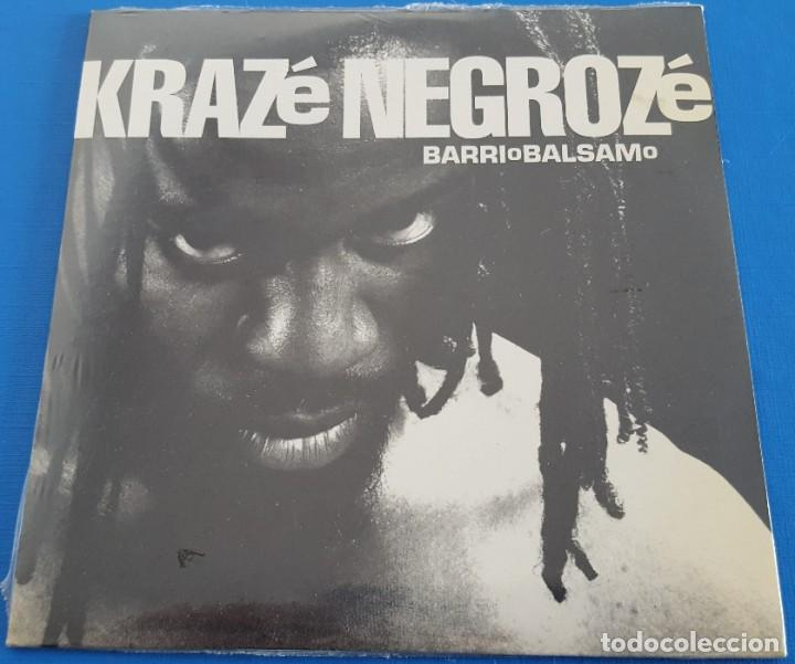 CD-MAXI / KRAZE NEGROZE / BARRIO BALSAMO, 2001 NUEVO Y PRECINTADO (Música - CD's Hip hop)
