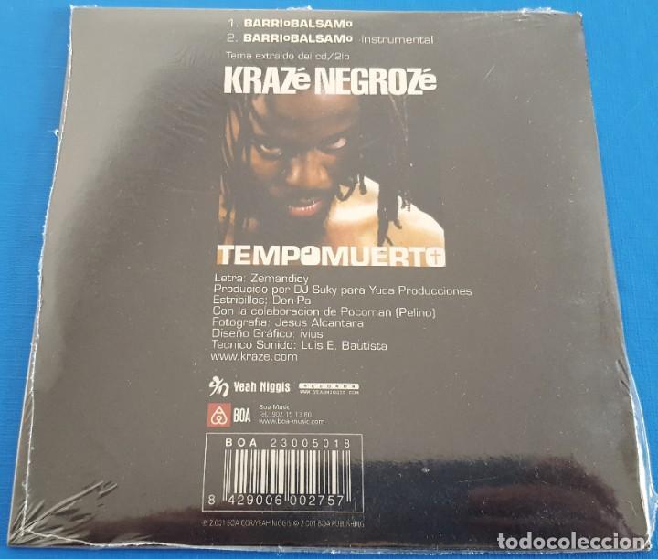CDs de Música: CD-MAXI / KRAZE NEGROZE / BARRIO BALSAMO, 2001 NUEVO Y PRECINTADO - Foto 2 - 183528901