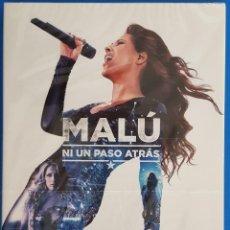 CDs de Música: CD + DVD / MALU / NI UN PASO ATRAS, 2016 NUEVO Y PRECINTADO. Lote 183529313