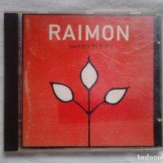 CDs de Música: RAIMON - CANÇONS DE MAI - CD DOBLE / MÚSICA CATALANA /. Lote 107056227