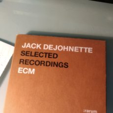 CDs de Música: JACK DEJOHNETTE - SELECTED RECORDINGS (ECM RECORDS, GERMANY, 2004). Lote 183537483