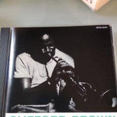 CDs de Música: CLIFFORD BROWN – MEMORIAL ALBUM (INENCONTRABLE) VERSIÓN JAPONESA. Lote 183542768
