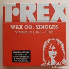 CDs de Música: T. REX – WAX CO. SINGLES VOLUME 2 (1975 - 1978). Lote 183546402