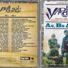 CDs de Musique: YARDBIRDS, THE: A´S, B´S & EP´S. UN TOTAL DE 50 DE SUS MARAVILLOSO TEMAS. CON CLAPTON, BECK Y PAGE. Lote 183547386