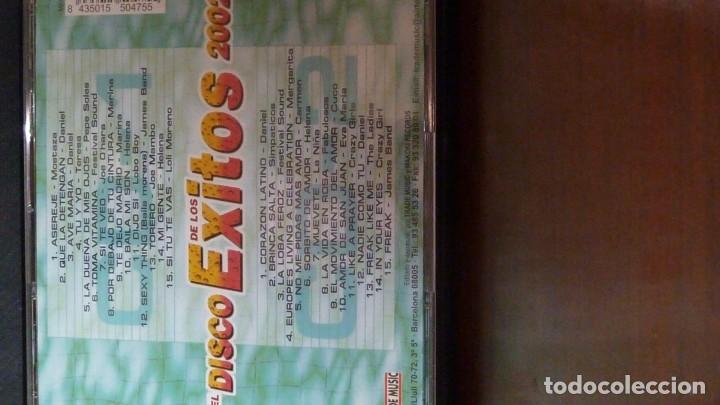 CDs de Música: EL DISCO DE LOS EXITOS 2002 30 EXITOS EN 2CD - Foto 2 - 183548067