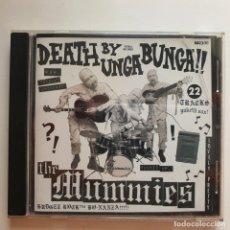 CDs de Música: THE MUMMIES – DEATH BY UNGA BUNGA!!. ESTRUS RECORDS 2003. Lote 183548168