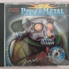 CDs de Música: POWER METAL - HEAVY METAL FROM BENELUX. Lote 183565641