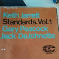 CDs de Música: KEITH JARRETT, GARY PEACOCK, JACK DEJOHNETTE – STANDARDS, VOL. 1. Lote 183569182
