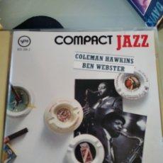 CDs de Música: COLEMAN HAWKINS / BEN WEBSTER – COLEMAN HAWKINS / BEN WEBSTER. Lote 183569711