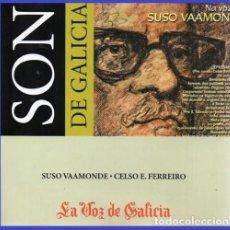 CDs de Música: SON DE GALICIA. CD. SUSO VAAMONDE. CELSO E FERREIRO. NUEVO Y PRECNITADO.. Lote 183571097