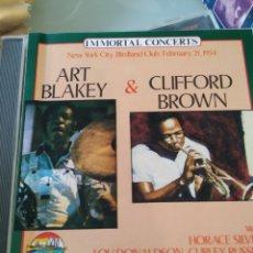 CDs de Música: ART BLAKEY & CLIFFORD BROWN – NEW YORK CITY, BIRDLAND CLUB, FEBRUARY 21, 1954. Lote 183573356
