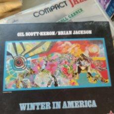 CDs de Música: GIL SCOTT-HERON / BRIAN JACKSON – WINTER IN AMERICA. Lote 183573806