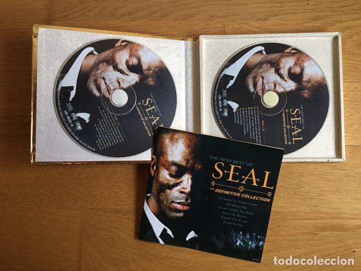CDs de Música: SEAL: THE DEFINITIVE COLLECTION (2CDS) - Foto 3 - 183577775