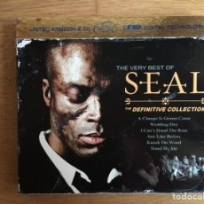 CDs de Música: SEAL: THE DEFINITIVE COLLECTION (2CDS). Lote 183577775