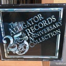 CDs de Música: THE ALLIGATOR RECORDS - 25TH ANNIVERSARY COLLECTION (2XCD, COMP) (ALLIGATOR RECORDS) ALCD 110/11. Lote 183582512