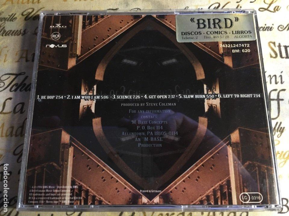 CDs de Música: Steve Coleman And Metrics - A Tale Of 3 Cities, The EP (CD) - Foto 2 - 183587817