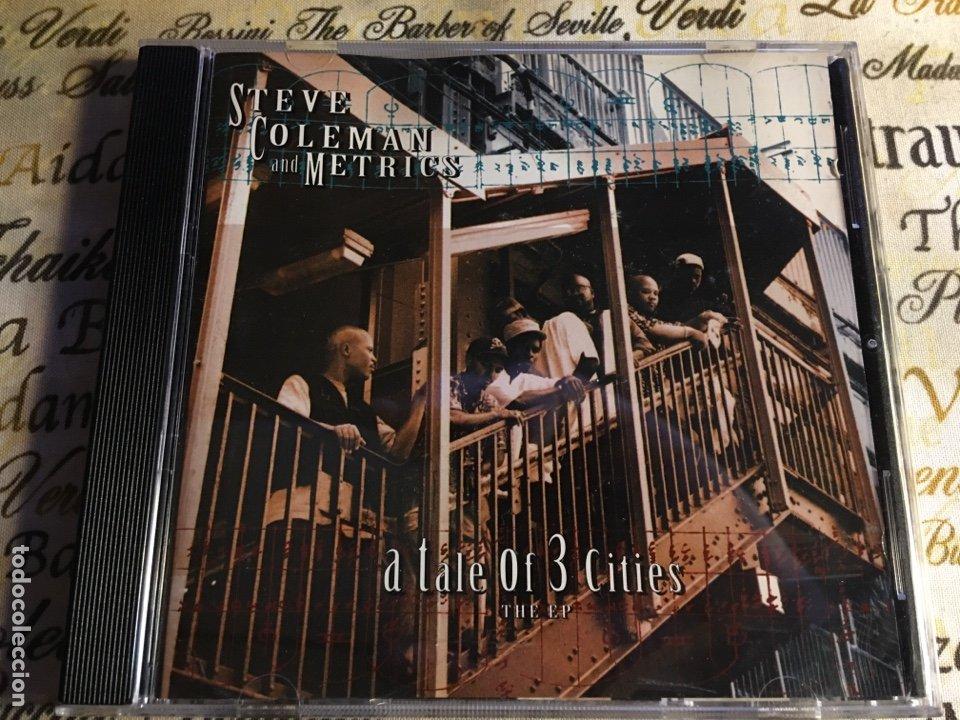 STEVE COLEMAN AND METRICS - A TALE OF 3 CITIES, THE EP (CD) (Música - CD's Jazz, Blues, Soul y Gospel)
