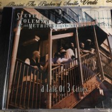 CDs de Música: STEVE COLEMAN AND METRICS - A TALE OF 3 CITIES, THE EP (CD). Lote 183587817