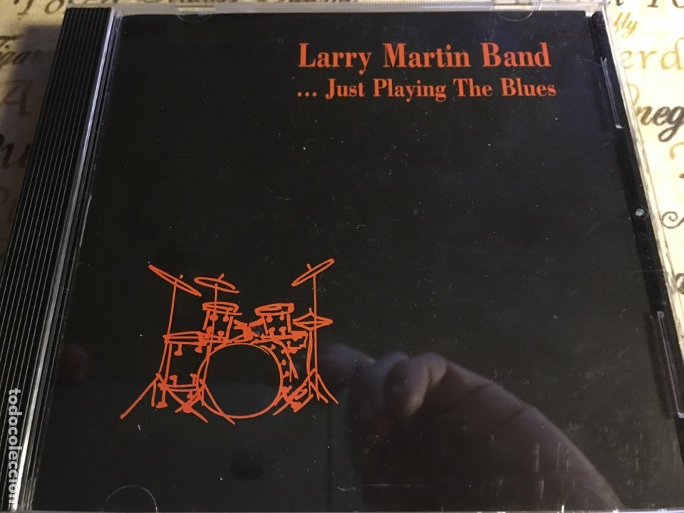 LARRY MARTIN BAND - ... JUST PLAYING THE BLUES (CD) EFDS 3015 (Música - CD's Jazz, Blues, Soul y Gospel)