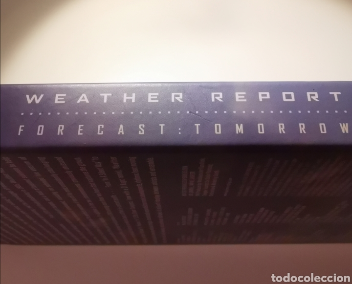 CDs de Música: WEATHER REPORT 4CDS BOX SET FORECAST:TOMORROW 2006 - Foto 13 - 183590882