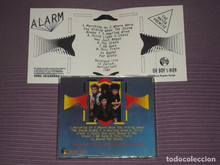 CDs de Música: * THE ALARM : ( THE MAJOR PREMISE - LIVE IN ZURICH 1984 - OH BOY RECORDS ) * - Foto 4 - 183591442