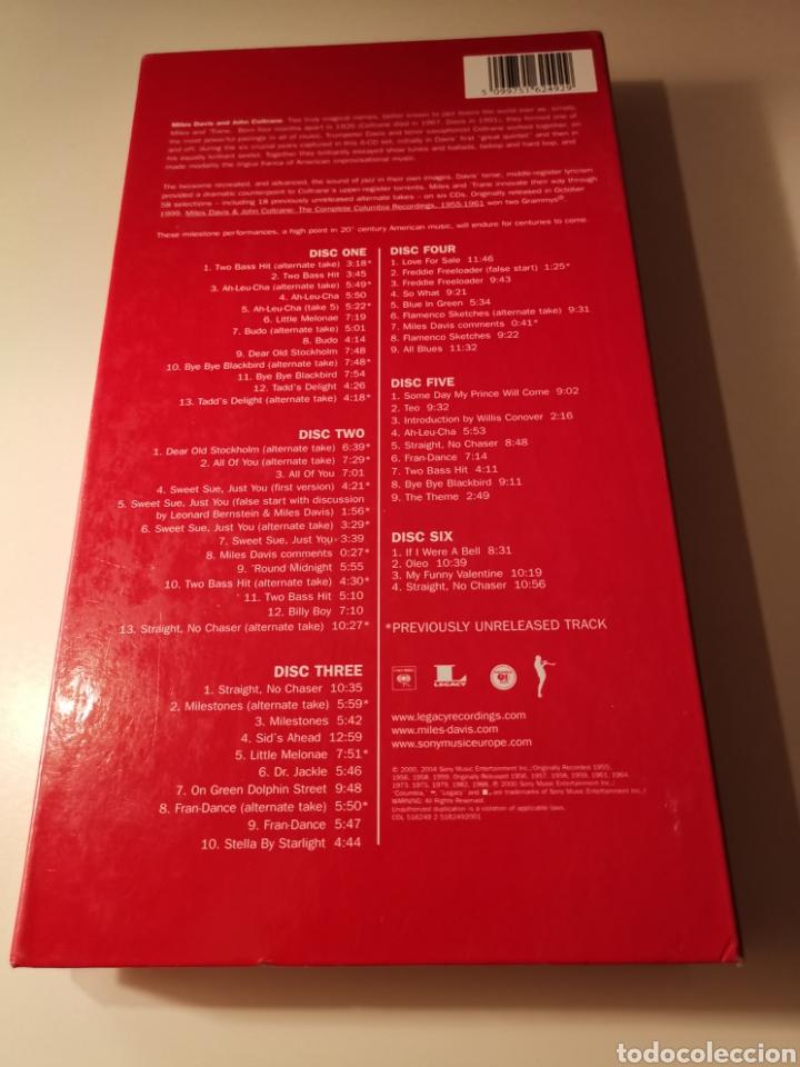 CDs de Música: MILES DAVIS & JOHN COLTRANE BOX SET 6 CDS 3004 - Foto 2 - 183592966