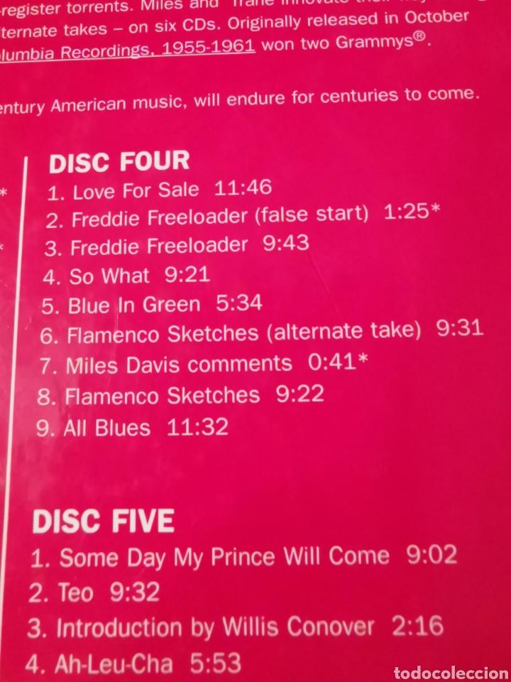 CDs de Música: MILES DAVIS & JOHN COLTRANE BOX SET 6 CDS 3004 - Foto 5 - 183592966