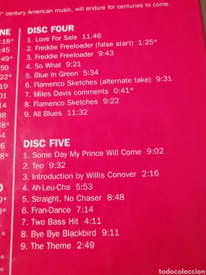 CDs de Música: MILES DAVIS & JOHN COLTRANE BOX SET 6 CDS 3004 - Foto 6 - 183592966