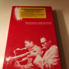 CDs de Música: MILES DAVIS & JOHN COLTRANE BOX SET 6 CDS 3004. Lote 183592966