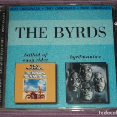 CDs de Música: * THE BYRDS : ( BALLAD OF EASY RIDER / BYRDMANIAX - RUSIA - 2001 - 25 TRACKS ) *. Lote 183595103