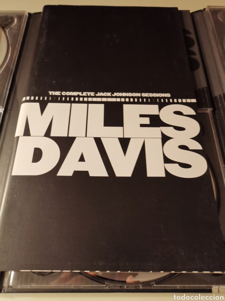 CDs de Música: MILES DAVIS 5CDS BOX SET THE COMPLETE JACK JOHNSON SESSIONS - Foto 8 - 183596158