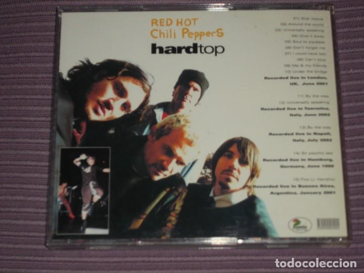 CDs de Música: * Red Hot Chili Peppers : ( Hard Top - Live 1999/2002 - Pablo Records - 2002 - 15 Tracks ) * - Foto 2 - 183596268