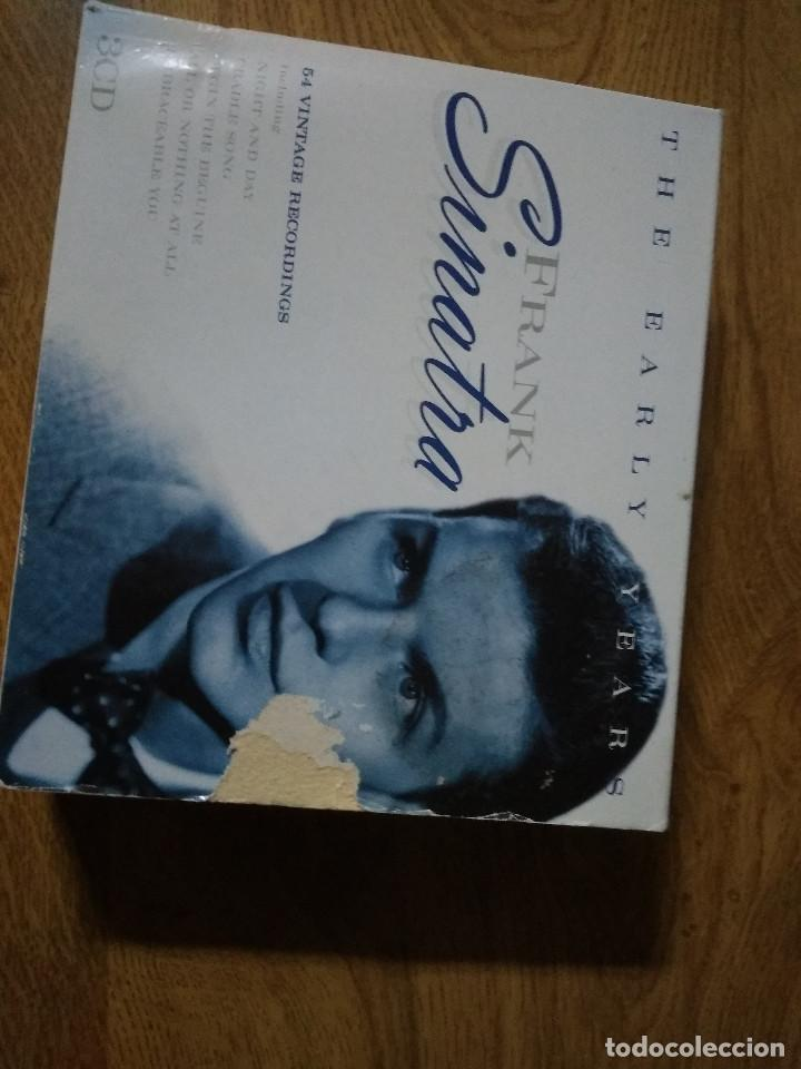 CDs de Música: THE EARLY YEARS FRANK SINATRA 3 CD - Foto 3 - 183598121