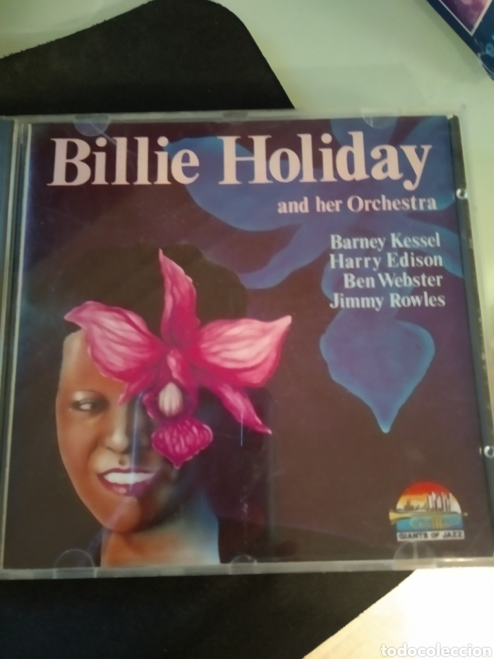 BILLIE HOLIDAY AND HER ORCHESTRA ‎– BILLIE HOLIDAY AND HER ORCHESTRA (Música - CD's Jazz, Blues, Soul y Gospel)