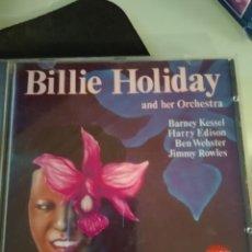 CDs de Música: BILLIE HOLIDAY AND HER ORCHESTRA – BILLIE HOLIDAY AND HER ORCHESTRA. Lote 183599086