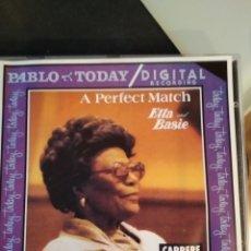 CDs de Música: ELLA FITZGERALD AND COUNT BASIE – A PERFECT MATCH . Lote 183600088