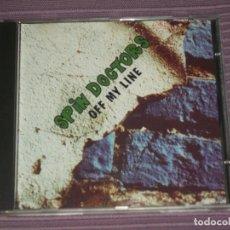 CDs de Música: * SPIN DOCTORS : ( OFF MY LINE - LIVE IN USA 1992 - BUNDY RECORDS - 13 TRACKS ) *. Lote 183600346