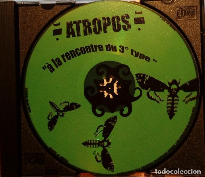 CDs de Música: ATROPOS A LA RENCONTRE DU 3 ÈME TYPE ALBUM CD AUTOEDICIÓN (JAZZ -FUSIÓN ÁFRICA MARRUECOS) - Foto 2 - 183605250